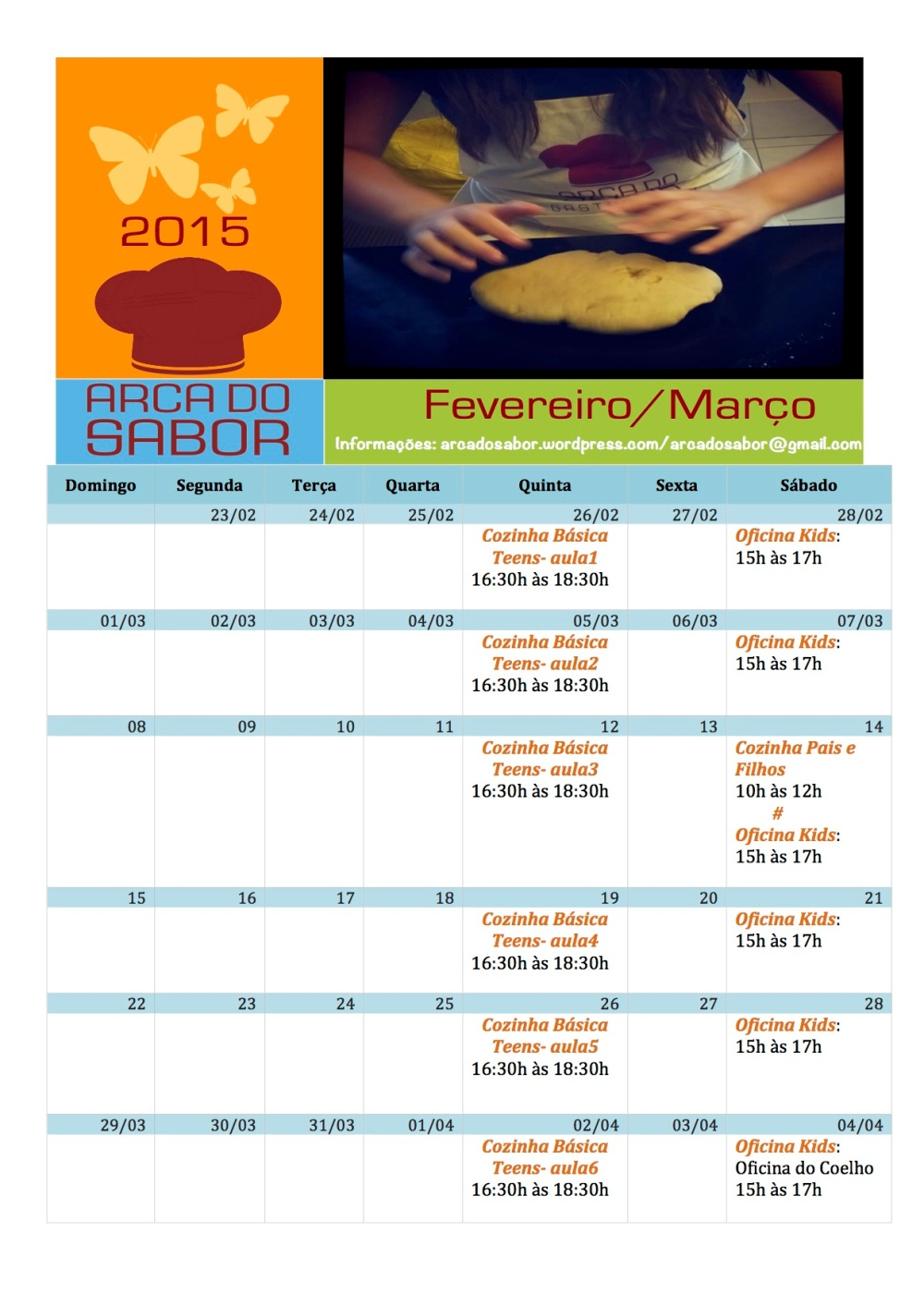 Calendario AS fev_mar 2015